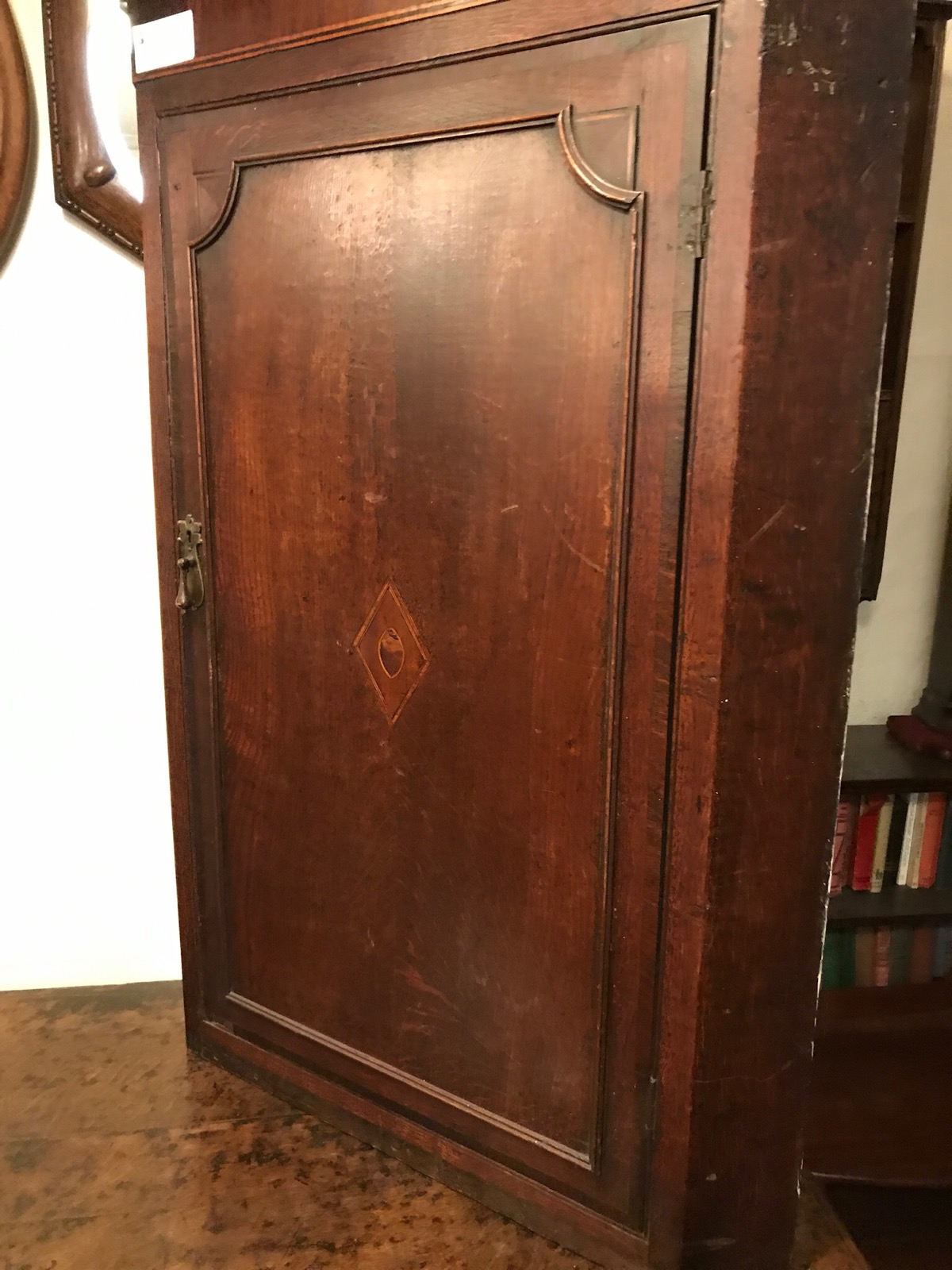 George III Oak Corner Cupboard (1 of 1)