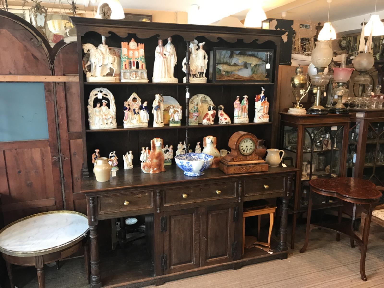 Good Solid Oak Dresser c.1890 (1 of 1)