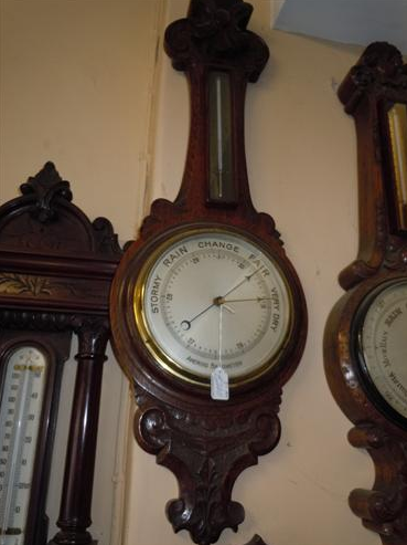 Mahogany Barometer (1 of 1)