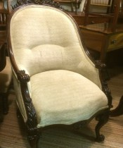 Top Quality Victorian Armchair (1 of 1)