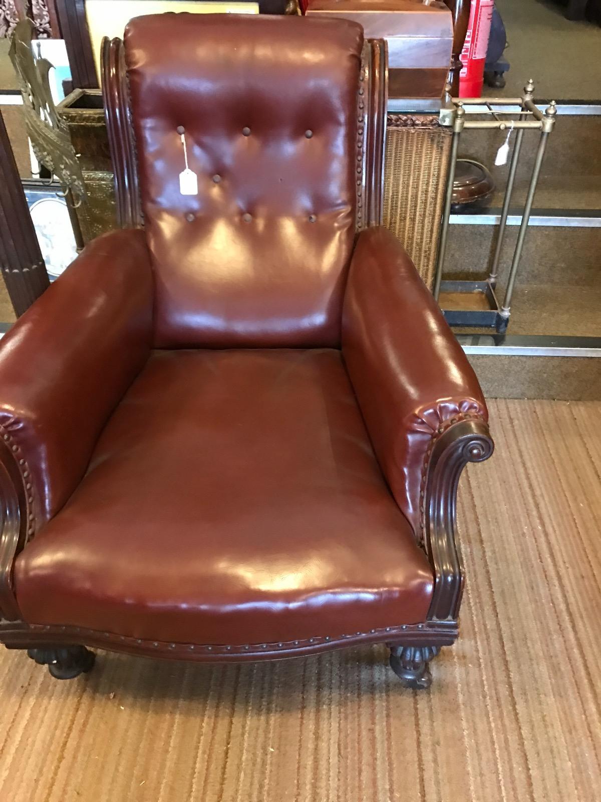 Comfortable Victorian Armchair (1 of 1)