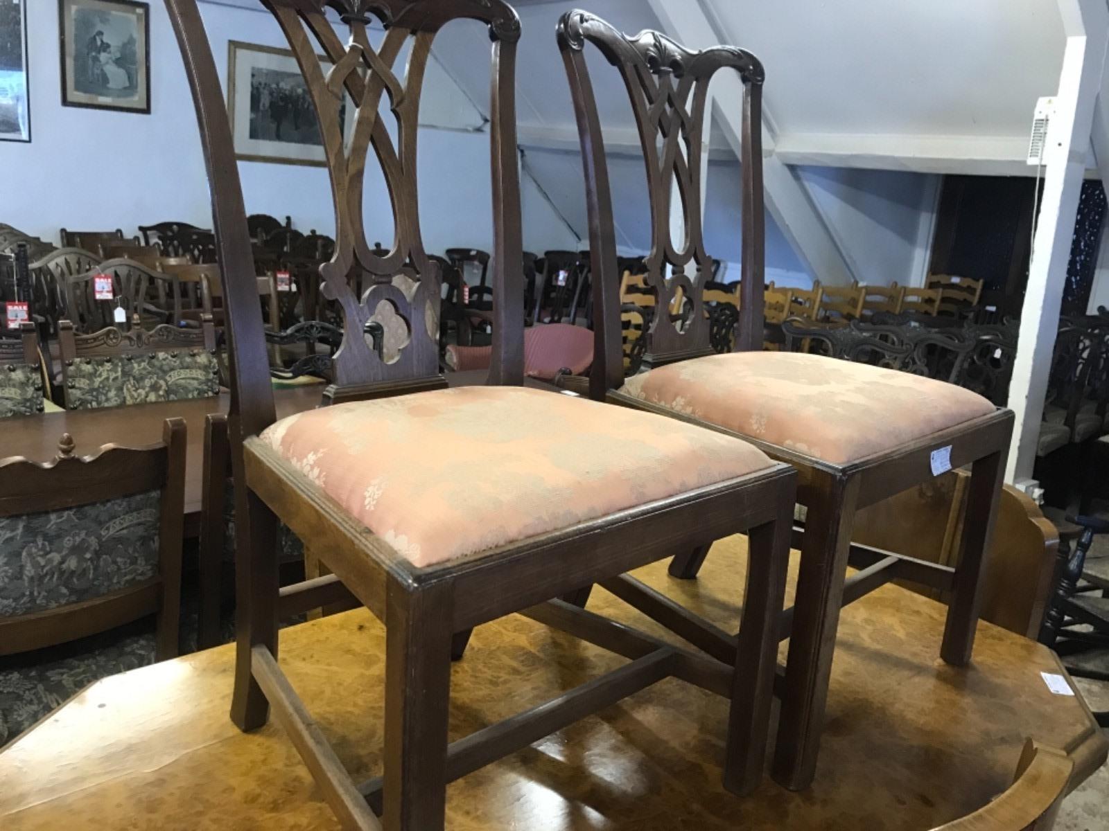 Pair of Good Georgian Chairs (1 of 1)