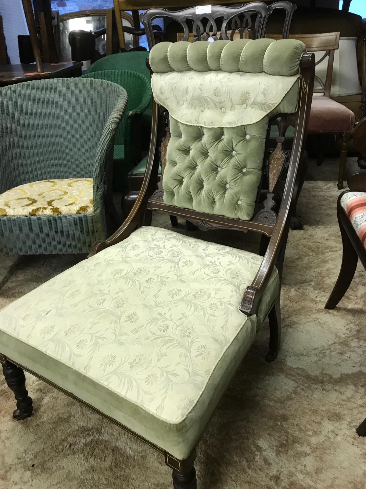 Edwardian Inlaid Chair (1 of 1)
