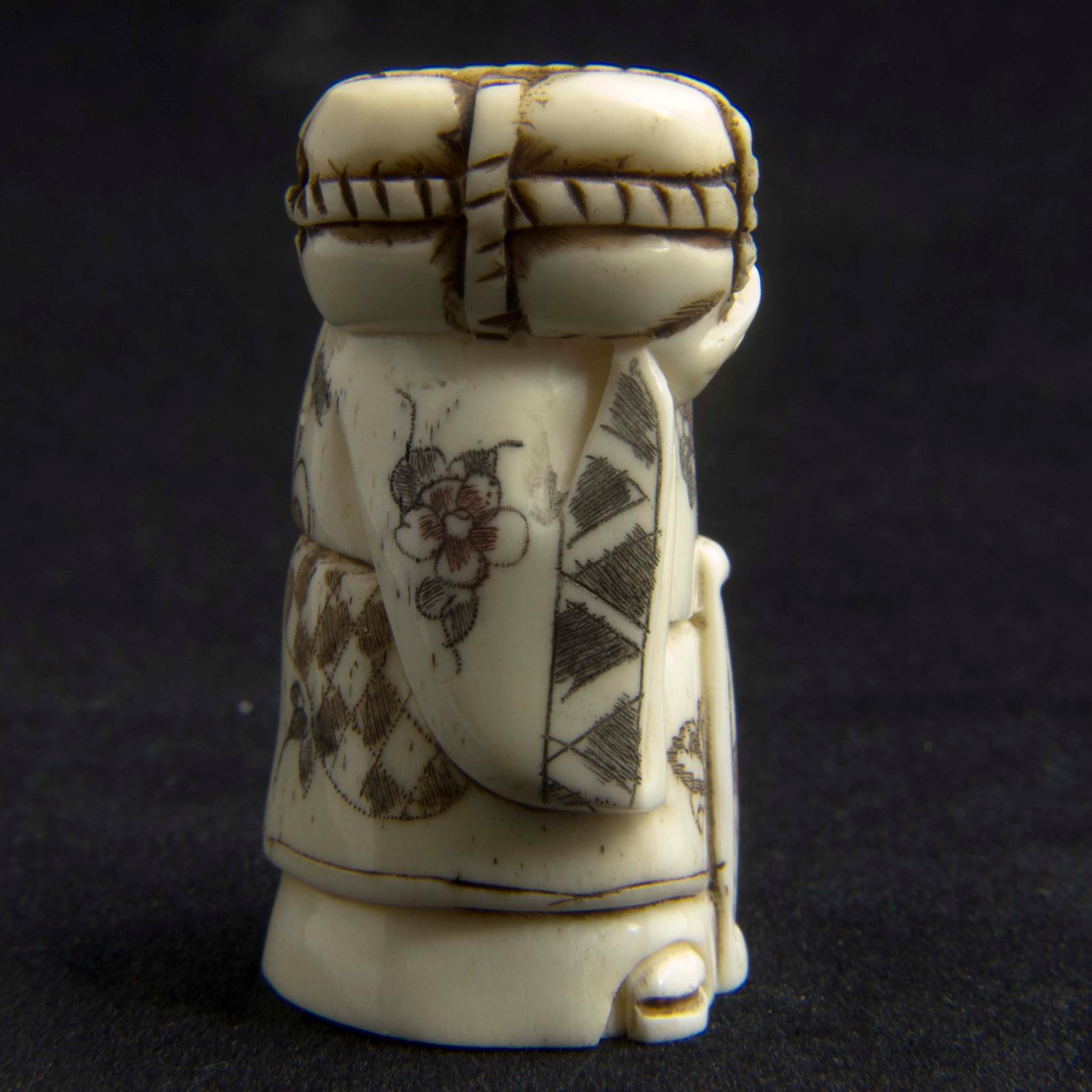 Japanese Carved Bone Netsuke 3208 La180384 Loveantiques Com