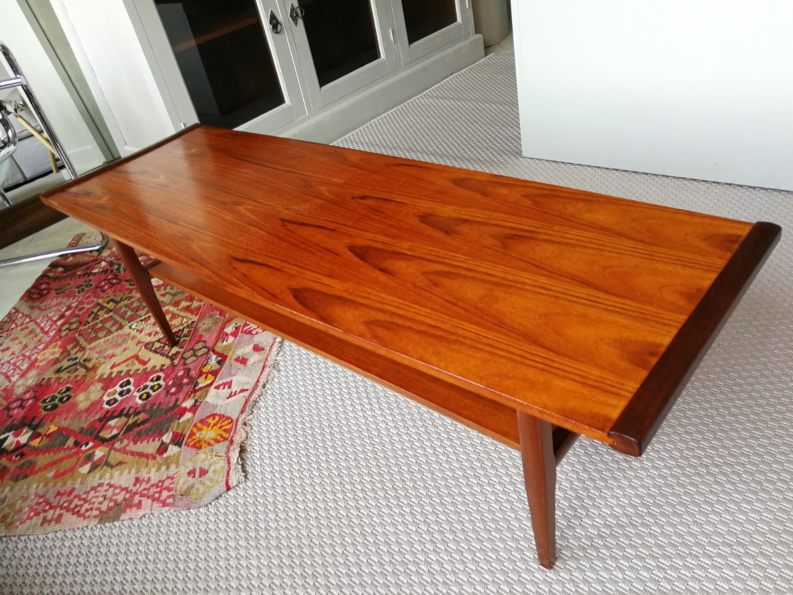mid century coffee table by myer 1960s LA