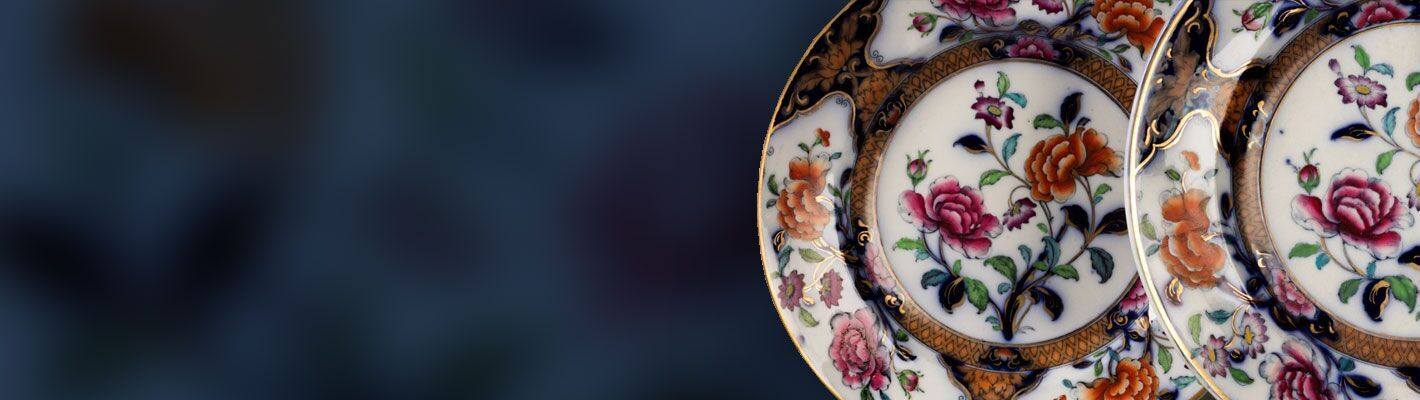 Antique Plates from LoveAntiques