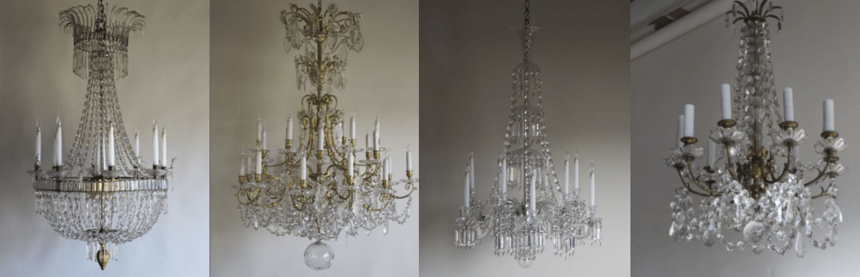 Antique Chandeliers from LoveAntiques