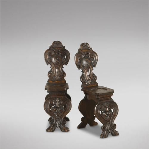 Pair of Italian Hall Chairs (1 of 3)