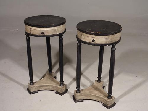 Attractive Pair of Early 20th Century Continental Lamp Tables (1 of 5)