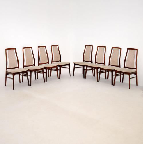 Set of 8 Danish Vintage Rosewood Dining Chairs (1 of 11)