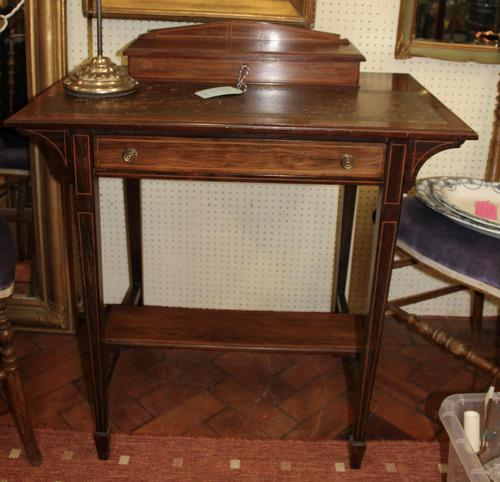 Pretty Rosewood Writing Table (1 of 3)