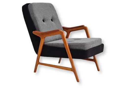 Danish Design, 60s, Completely Restored Armchair, Furniture Wool (1 of 16)
