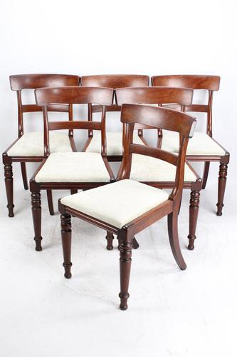 Set of 6 Victorian Mahogany Dining Chairs (1 of 13)