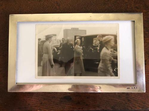 Arthur & John Zimmerman Silver Picture Frame (1 of 2)