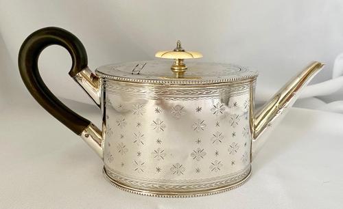 Pretty Silver Plated Bachelors Tea Pot (1 of 7)