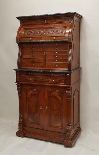 Victorian Walnut Dentist Cabinet (1 of 9)