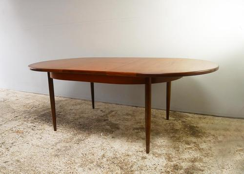 1970's G Plan mid century extending dining table (1 of 6)