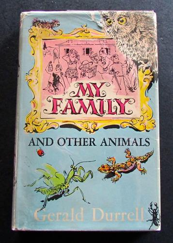 1956 1st Edition - My Family & Other Animals by Gerald  Durrell (1 of 4)