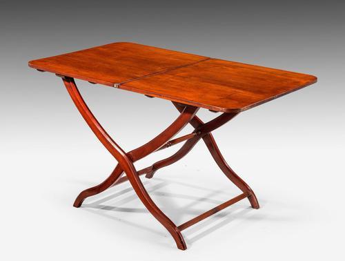 Unusual 19th Century Mahogany Coaching Table (1 of 3)