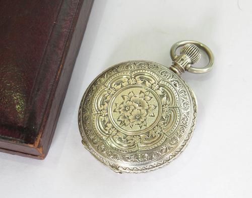 Small Silver Waltham Royal Hunter Pocket Watch (1 of 6)