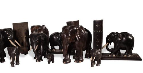 Ebony Elephants (1 of 4)