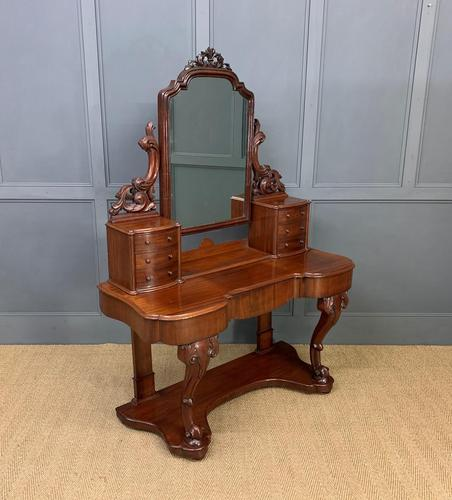 Excellent Victorian Mahogany Duchess Dressing Table (1 of 21)