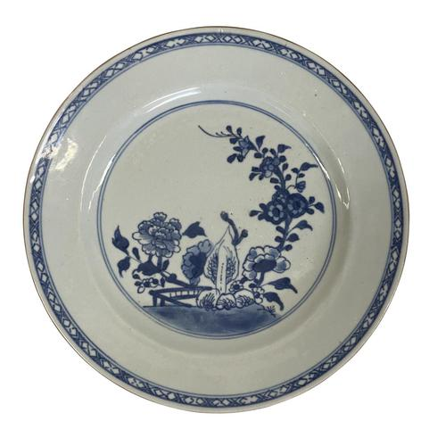 Blue & White Chinese Porcelain Plate (1 of 3)