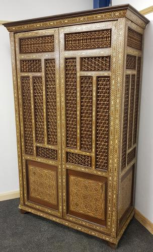 Mid 20th century reproduction Moroccan/islamic armoire (1 of 3)