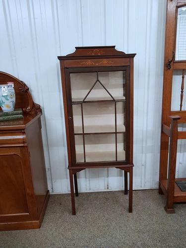 Edwardian Display Cabinet (1 of 5)