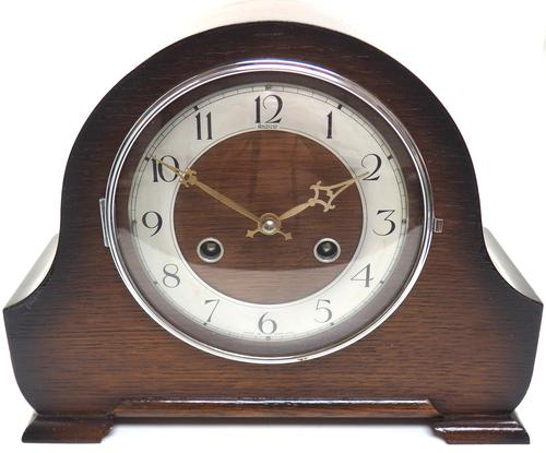 Good Hat Shaped Mantel Clock – Striking 8-day Arched Top Mantle Clock (1 of 10)