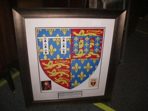 Framed Historic Coat of Arms - Royal Baron - 020-483 (1 of 2)