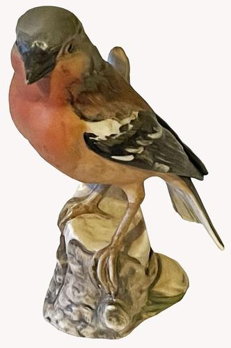 A Porcelain figure of a Chaffinch by Goebel of Germany (1 of 6)