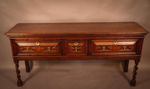Superb 17th Century Serving Dresser (1 of 11)
