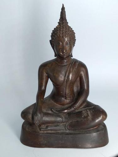 Bronze Sitting Buddha (1 of 9)