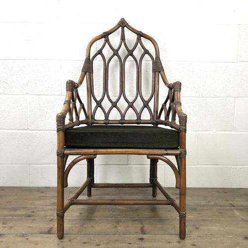 Vintage Angraves Bamboo Armchair (1 of 12)