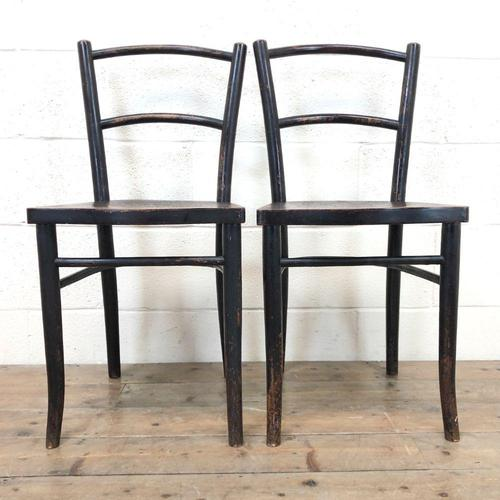 Pair of Early 20th Century Bentwood Chairs (1 of 11)
