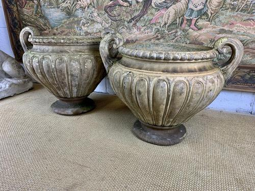 Pair of Large James Pulham Terractotta Urns (1 of 7)