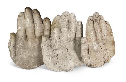 Plaster Cast Hands (1 of 4)