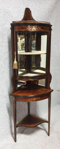 Top Quality Rosewood Display Cabinet (1 of 13)