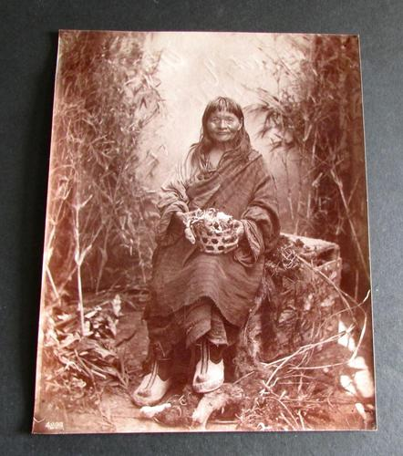 Photograph of The Witch of Ghoom by Fred Ahrle c.1896 (1 of 4)