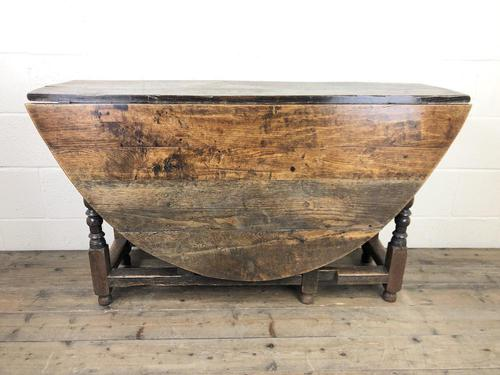 18th Century Oak Gateleg Table (1 of 10)