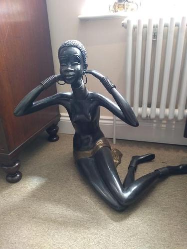 Bronze African Nubian Princess (1 of 7)