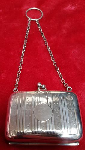 Sterling Silver Miniture Purse (1 of 4)