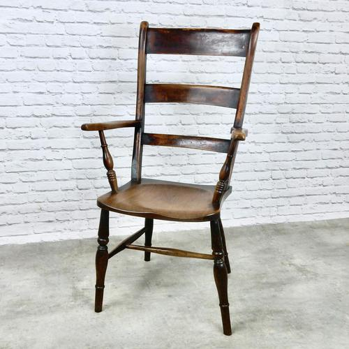High Back Oxford Windsor Armchair (1 of 7)