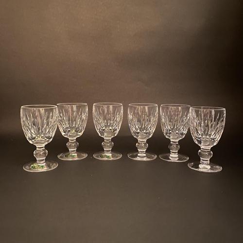 Six Waterford 'Maureen' Port Glasses (1 of 3)