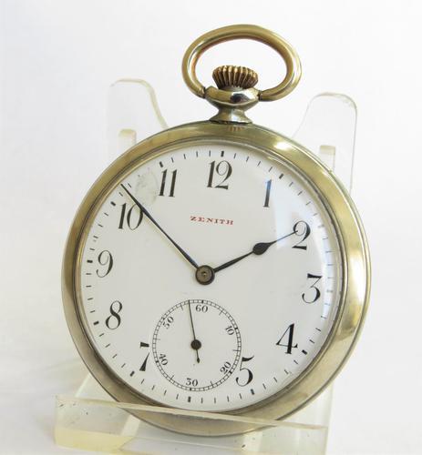 Antique Zenith Pocket Watch c.1906 (1 of 6)