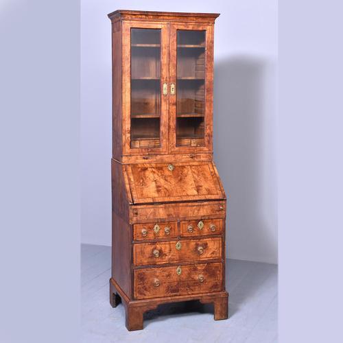 George I Walnut Bureau Bookcase c.1724 (1 of 19)