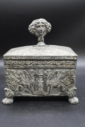 Beautifully Constructed Late 18th Century Rectangular Metal Box (1 of 6)