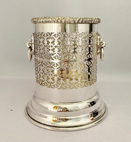 Edwardian Silver Plated Syphon Bottle Stand (1 of 7)