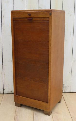 Art Deco Tambour Filing Cabinet (1 of 8)